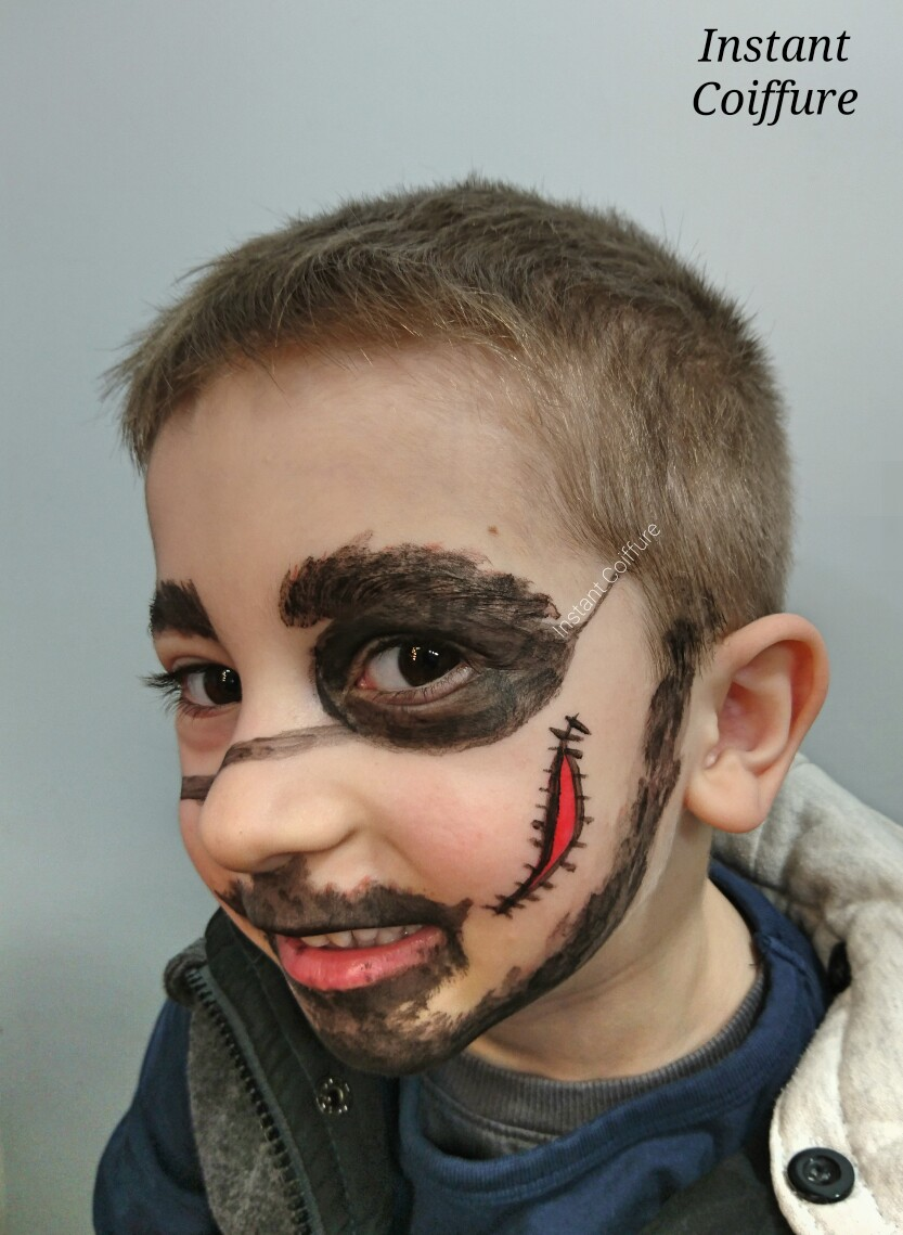 Maquillage pirate - Maquillage pirate homme ...