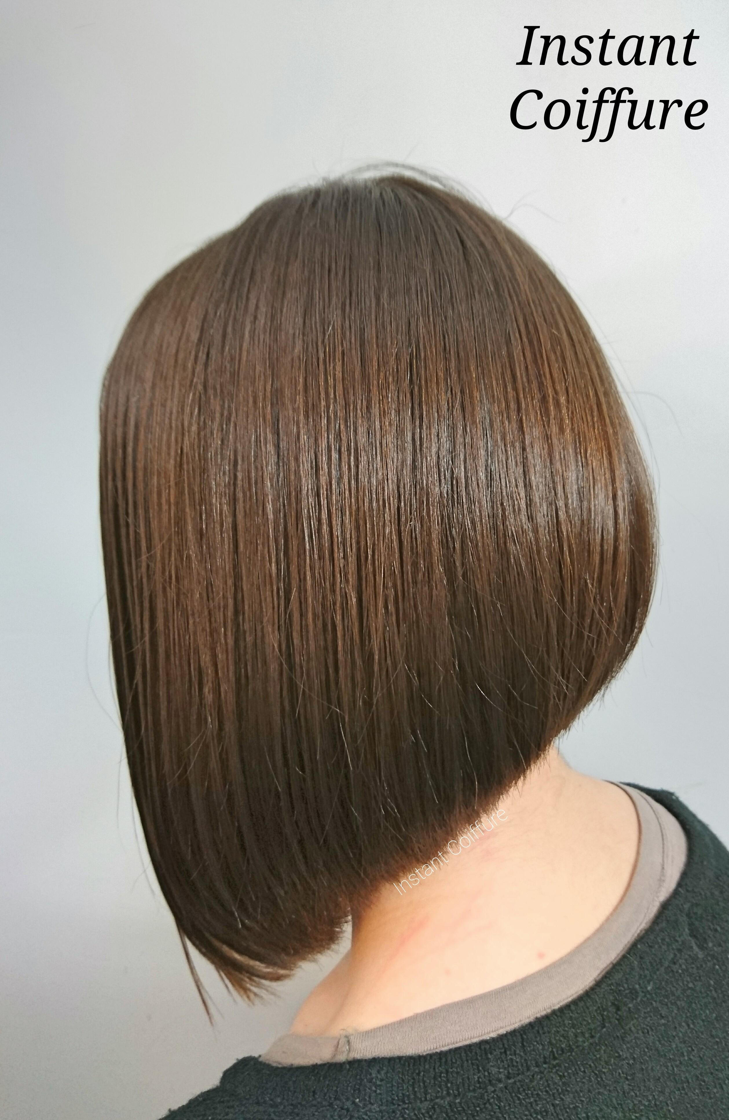 carre plongeant instant coiffure