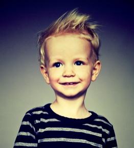 Instant coiffure model enfant