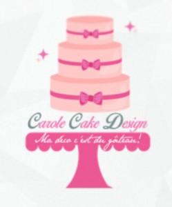 logo carole cake design